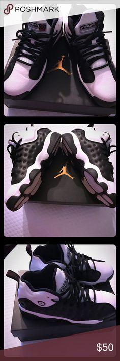 Air Jordan's flight Black and white air Jordan flights size 7Y. Previously loved❤ worn twice. Nike Shoes Sneakers