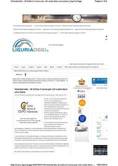Liguria Oggi 19 gennaio CIV