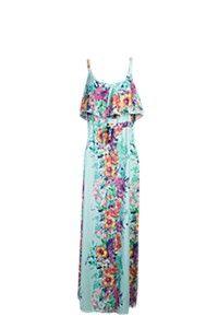 FLORAL FRONT FRILL MAXI DRESS No Frills, Pretty Dresses, Summer Dresses, Floral, Fashion, Moda, Cute Dresses, Summer Sundresses, Fashion Styles