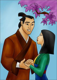 DC+-+Shang+and+Mulan+(color)+by+vanillacoke-disney.deviantart.com+on+@deviantART