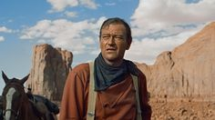 John Wayne Westerns are often thought of as looking back at the Old West through rose-tinted specs – but The Searchers – possibly his finest . Clint Eastwood, Chat Web, John Wayne Quotes, Westerns, The Searchers, John Ford, Into The Fire, Western Movies, Best Western