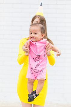 How To Make A School Supplies Family Costume   studiodiy.com