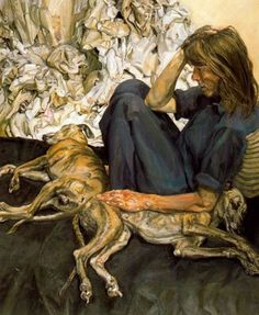 El feroz figurativismo de Lucian Freud