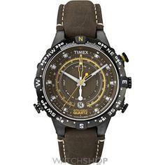 Mens Timex Intelligent Quartz Tide Temp Compass Watch T2P141