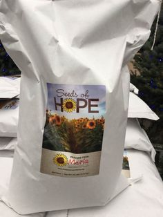 Our Seeds of Hope are on sale at The Rock Pile, Petitti's of Avon and Strongsville, Buyer's Outlet, and Dean's Greenhouse.