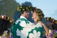 South Pacific Island Weddings - they wrap themselves in a tapa... their version of a quilt