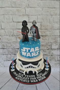 Star Wars cake Kylo Ren - Captain Phasma