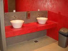 baño de cemento alisado o microcemento  Banys 1 ...