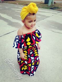 Modern African Dress Style for Kids 2018 That Will Blow Your Mind ~ AfroFashionStylelatest african fashion look she is so cute❤️second cutFinding Modern African Style for your little one can sometimes require finding African themed stores Baby African Clothes, African Dresses For Kids, African Babies, Cute Kids Fashion, Baby Girl Fashion, Toddler Fashion, African Print Fashion, African Fashion Dresses, African Attire