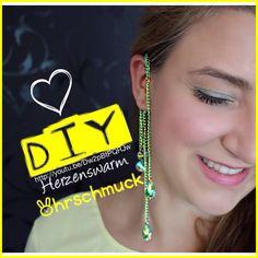 http://youtu.be/Dw2pBtPQRJw Ohrschmuck mal anders! Wer keine Ohrringe tragen kann, kann trotzdem seine Ohren schmücken :-) Schmuck DIY :)
