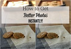 How to get better Photos Instantly!- Knick of Time