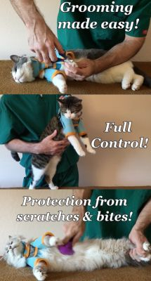 Ultimate Cat Care Our cat grooming harness gently & effectively  guards against scratches & bites while giving you full control. You'll keep your cat calmer & save time while putting your stress to rest. We've helped thousands of cat lovers just like you. With our harness you can finally trim nails, give medications, & groom, without worry. So don't wait till the next time you're fussing with your fidgety kitty to order. Get yours now at  http://healthykitty.club/kitty-care