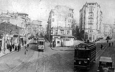 Archive view of Şişli, Istanbul
