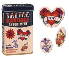 Gift Trend:  Ink for Kids.  Tattoo Bandage Assortment @ Perpetual Kid.