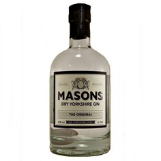 Masons Dry Yorkshire Gin Original small batch hand crafted available to buy online at specialist gin and whisky shop whiskys.co.uk Stamford Bridge York