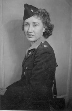 Army Nurse La Rue Tucker Johnson during WW2 ~