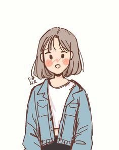 Arte Do Kawaii, Kawaii Art, Cartoon Art Styles, Cute Art Styles, Arte Indie, Arte Sketchbook, Dibujos Cute, Korean Art, Cute Cartoon Wallpapers