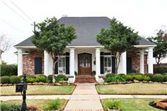 Country French with the New Orleans flair!  This home has beautiful curb appeal. Brick and stucco exterior.  Notice that you walk up the ste...