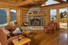 Rocky Mountain Sanctuary - Colorado rustic-living-room