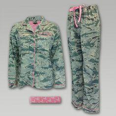 Air Force Women's Camo Pink Pajamas | ArmedForcesGear.com