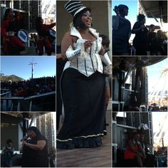 Madame Zingara celebrating woman's day by entertaining everyone at the V Waterfront, Cape Town, South-Africa. Ladies Day, Cape Town, South Africa, Community, Magic, Entertaining, Celebrities, Dresses, Women