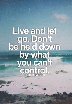 Let go! #Befree