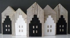 HOLLAND by af-ge-ZZZaagd! Barn Wood Crafts, Wooden Crafts, Holland, Bird Houses, Wooden Houses, Paper Houses, Wooden Decor, Miniature Houses, Hanging Tapestry