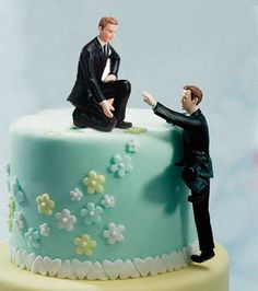 Same-sex wedding reception decorations • Wedding Pride  http://gaytravel.com