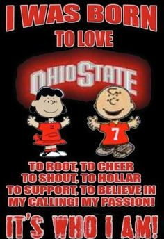 I surely was ☺ Ohio State Football, Ohio State Vs Michigan, Ohio State Baby, Ohio Stadium, My Ohio, Ohio State University, Ohio State Buckeyes, College Football, Oklahoma Sooners