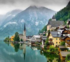 Hallstatt in Austria.