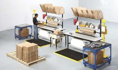 We offer numerous types of ergonomic solutions to help increase productivity and efficiency in your production and warehousing operations. Warehouse Layout, Warehouse Shelving, Warehouse Design, Modular Workstations, Packing Station, Stainless Steel Work Table, Efficient Packing, Lean Manufacturing, Modular Office