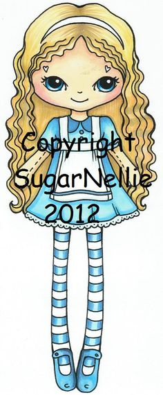 Image detail for -... the first set of stamps from new Sugar Nellie artist Carla Chaves