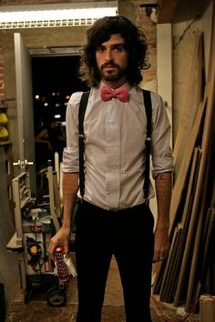 I'm a big fan of bow ties and suspenders.