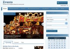 Events Directory Wordpress Theme - Events