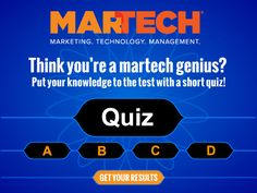 What's your martech IQ? #martech