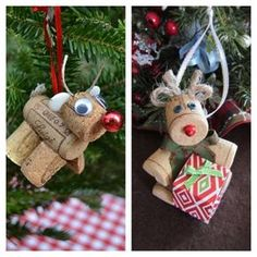 Fantasia: Χριστουγεννιάτικη διακόσμηση από φελλούς