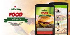 Food Delivery Mobile Application Template