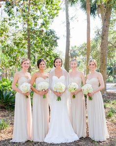 Becky and her girls never looked so good! Featured on @alowcountrywed ( Bridesmaid Dresses: @WeddingShoppeInc // Photographer: @PriscillaThomasPhoto // Invitation Designer: #AMilestonePaperCo // Shoes: Badgley Mischka // Makeup Artist: @BridesSideBeauty // Cinema and Video: @DockHouseDigital // Jewelry: #GerberJewelers // Dress Store: @IvoryandBeau // Tuxedo and Men's Attire: @JHilburnco // Groomsman Attire: @MensWarehouse // Veils and headpieces: #MIBridalVeil // DJ: @PinnacleCharleston…