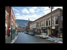 """A cool slideshow presentation of downtown Brattleboro, Vermont showing """"what was"""" and now """"what is."""""""