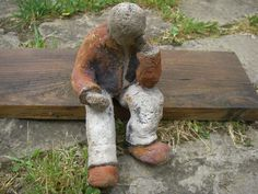 divers 08 032 Sculpture, Dogs, Art, Human Figures, Sculptures, Earth Tones, Pottery Workshop, Men, Projects