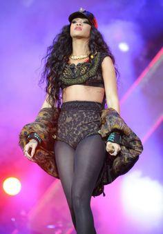 Rihanna. Wireless festival 2012.