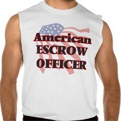 American Escrow Officer Sleeveless T-shirt Tank Tops