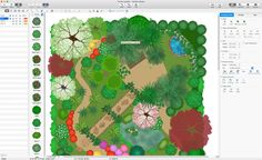 The Landscape and Gardens solution for ConceptDraw DIAGRAM is the ideal drawing tool when creating landscape plans. Any gardener wondering how to design a garden can find the most effective way with Landscape and Gardens solution. Free Landscape Design, Landscape Plans, Landscaping Ideas, Garden Landscaping, Garden Solutions, Drawing Tools, Diagram, Apple, Drawings