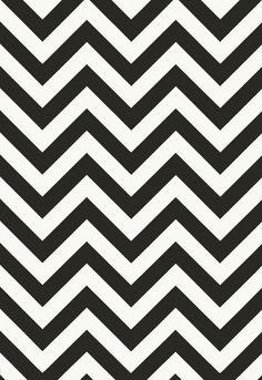 Black and white wallpaper. Chevron wallpaper. Patterned wallpaper. Wallpaper for living room, bedroom, bathroom. | Chelsea Lane & Co.