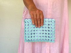 button craft purse DIY or buy $49,-