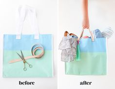 How to Instantly Upgrade Any Tote Bag with This DIY Sewn Leather Handle Tutorial - Paper and StitchPaper and Stitch
