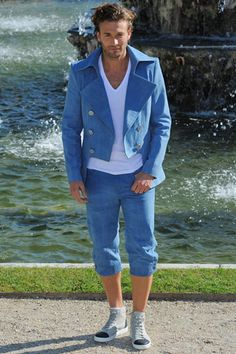 Brad Kroenig walks CHANEL Cruise 2013