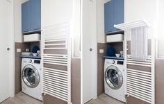 Risultati immagini per dividere in due il bagno per lavanderia