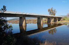 Puente sobre el río Guadalmez Merida, Travel And Tourism, My Photos, Spain, Bridges, Sevilla Spain, Spanish
