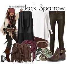 Disney Bound - Jack Sparrow                                                                                                                                                                                 More